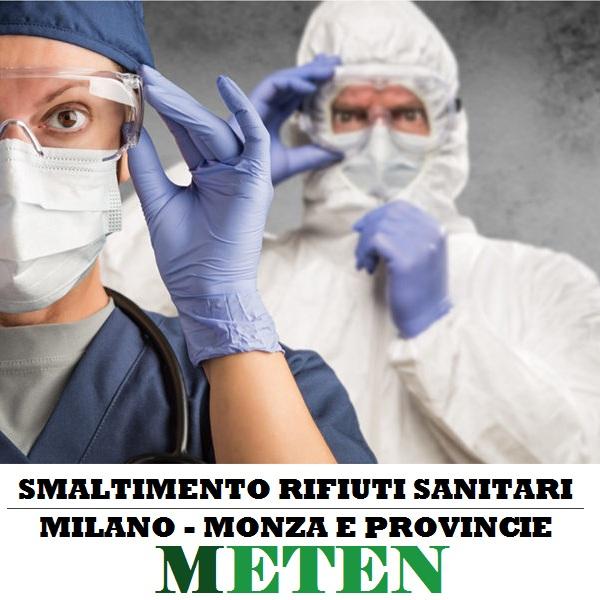 smaltimento rifiuti sanitari Milano